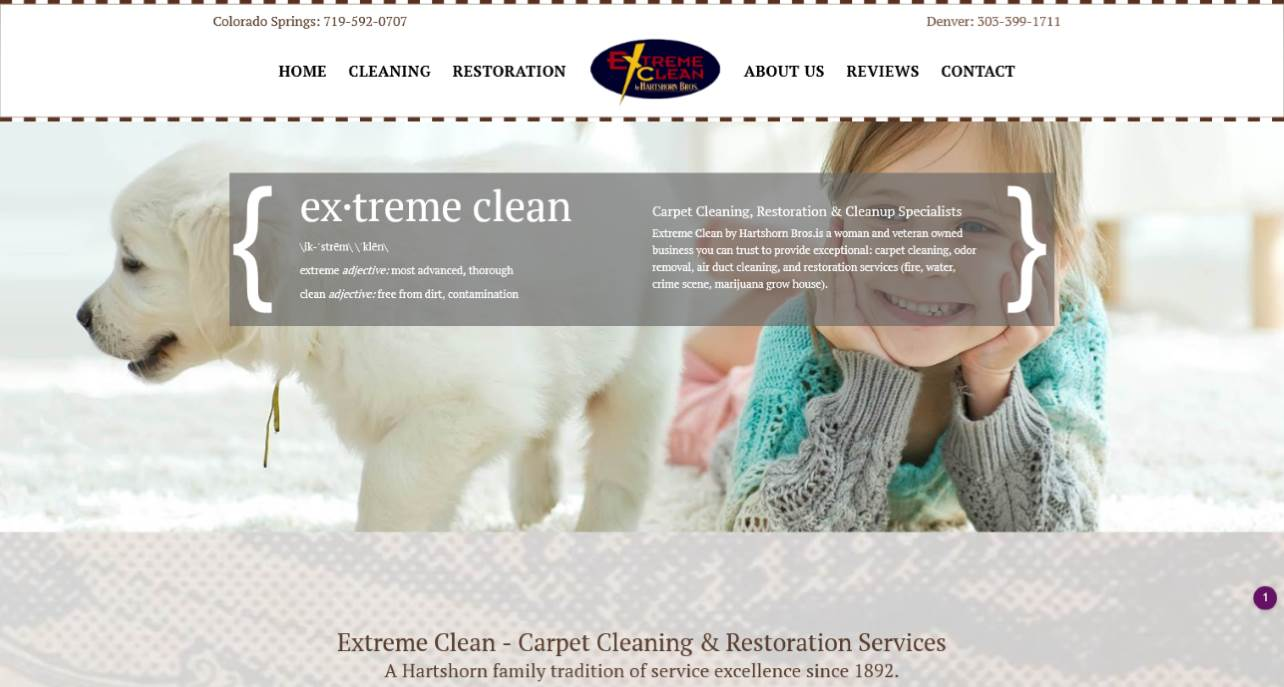 Picture of Extreme Clean By Hartshorn Brothers Website