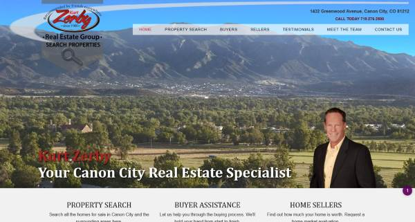 Picture of Canon City HomeSearch Website